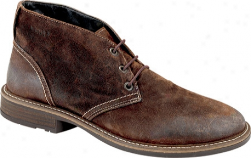 Naot Pilot (men's) - Seal Brown Suede
