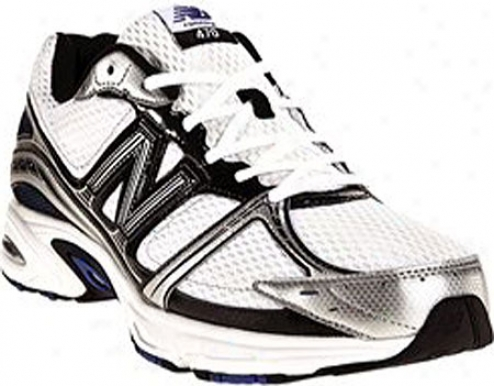 New Balance M470 (men's) - White/blue
