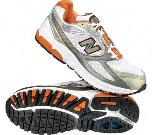 New Balance Mr817 (men's) - White/orange