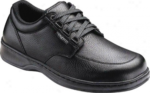 Orthofeet 410 (men's) - Black Leatehr