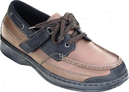 Orthofeet 422 (men's) - Brown Leather