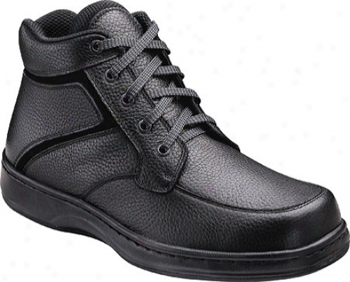 Orthofeet 481 (men&#039;s) - Black Leather