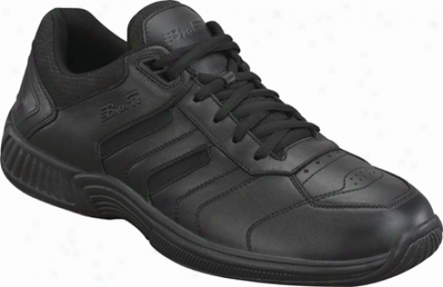 Orthofeet 641 (men's) - Black Leather