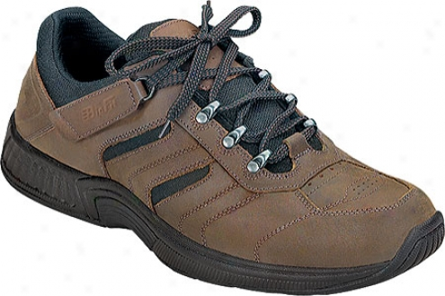 Orthofeet 644 (men's) - Brown Leather