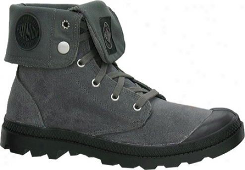 Palladium Baggy Suede 02406 (men's) - Metal/black