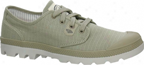 Palladium Pampa Oxford Lite 02666 (men's) - Aluminum/vapor