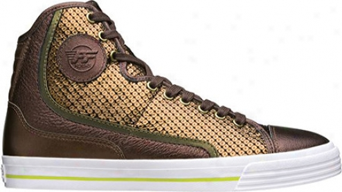 Pf Flyers Glide Sequin - Copper Printed Leather
