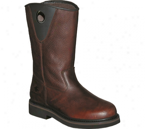 """pro Line Wellington Rt Series 11"""" (men's) - Dark Brown Oiled Full Grain Leather"""