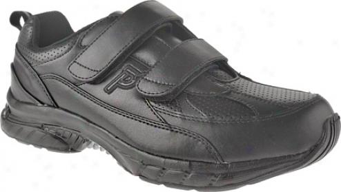 Propet Fast Walker Strap (men's) - Black