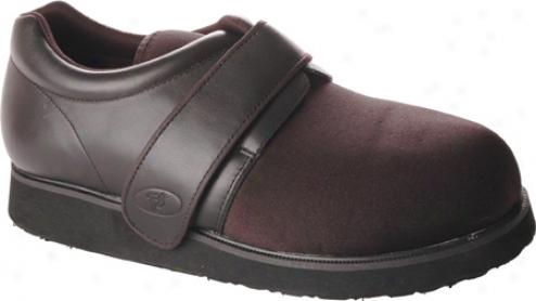 Propet Ped Walker 3 (men's) - Black Smootth Leather/nylon