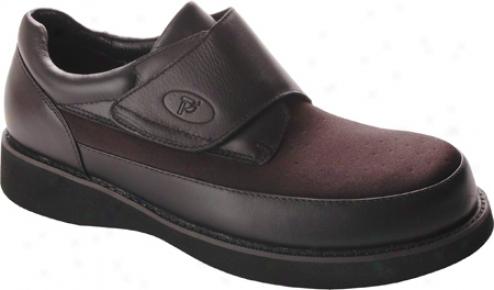 Propet Pedwalker 15 (men's) - Black Smooth/nylon