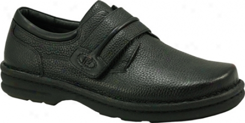 Propet Saratoga Walker (men's) - Black Waxy