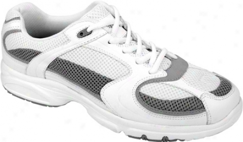 Propet Torchlite Walker (men's) - White/grey