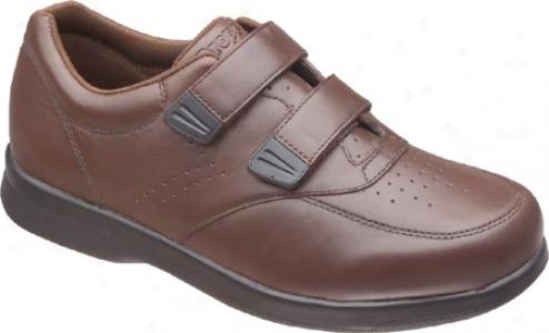 Propet Vista Walker Ligature (men's) - Brown Leath3r