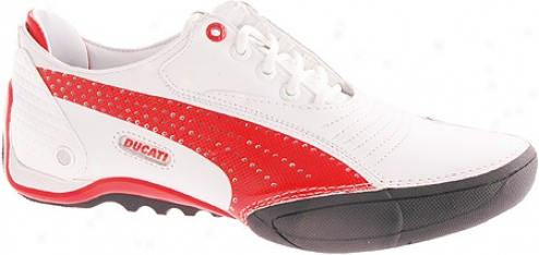 Puma En Route Ducati (men's) - White/high Risk Red/black