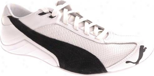 Puma Millennius L (men's) - White/black