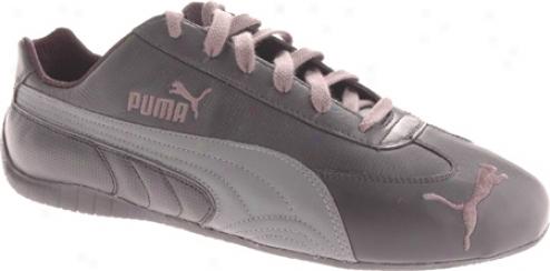 Puma Speed Cat L Perf (men's) - Black/dark Shadow