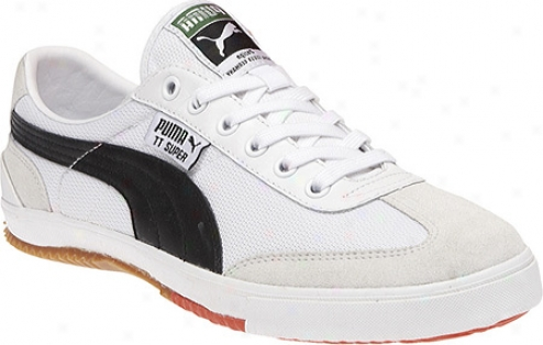 Puma Tt Super Cc (men's) - White/black