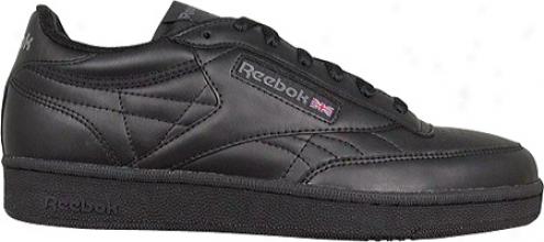 Reebok Club (men's) - Black/charcoal