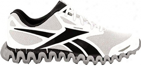 Reebok Premier Zigfly Se Elite (men's) - White/black/tin Grey