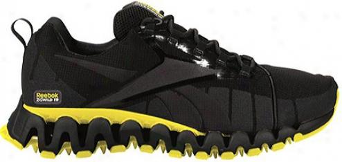 Reebok Premier Zigwild Tr (men's) - Black/gravel/go Yellow/silver