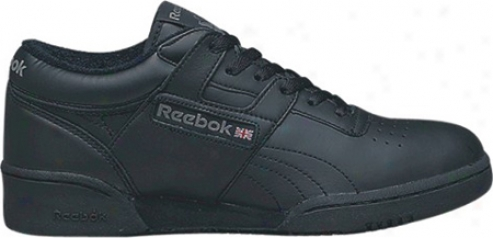 Reebok Workout Lo (men's) - Blak/light Grey