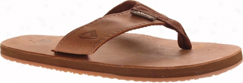 Reef Leather Smootthy (men's) - Bronze Brown