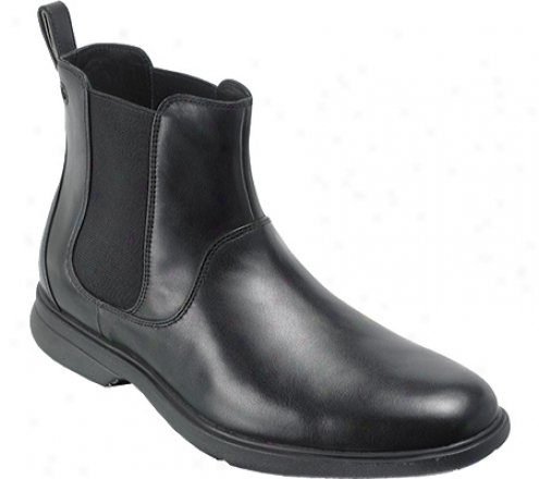 Rockplrt Aphrael (men's) - Black Full Grain Leather