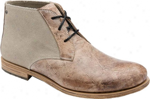 Rockport Day To Night Desert Boot (men's) - Maracca/wet Sand Full Grain Leather/suede