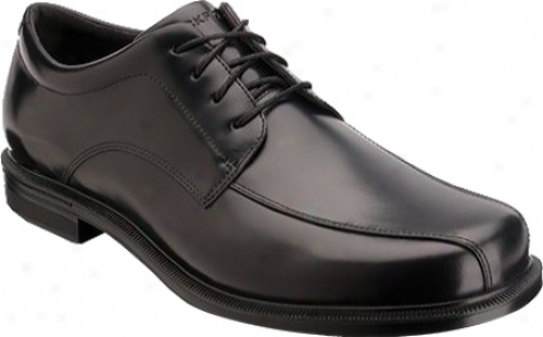 Rockport Editorial Offices Bike Frong Wp (men's) - Black Waterproof Full Grain Leather