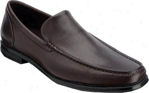 Rockport Fairwood Mocs Venetian (men's) - Dark BrownF ull Grain Leather