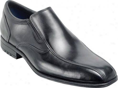 Rockpirt Fassler (men's) - Black Full Grain Leather