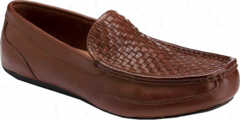 Rockport Great Slip Woven Venetian (men's) - Chili Full Grain Leather