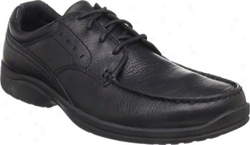 Rockport Kourt (men')e - Black Full Grain Leather