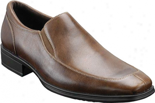 Rockport Mafeno (men's) - Brown Distressed Full Grain Leather