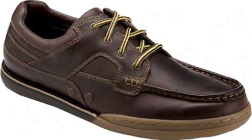 Rockport Morgan Coast 4 Boat Shoe Og (men's) - Datk Brown Full Grain eLather
