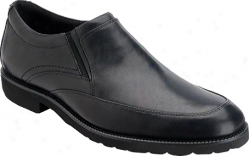 Rockport Oak Circle Slip On (men's) - Black Abounding Grain Leather