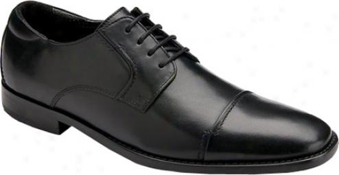 Rockport Oak Room Captoe (men's) - Black Full Grain Leather