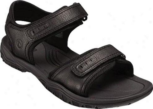 Rockport South River (men's) - Black Full Grain Leather