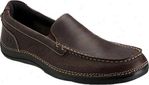 Rockport Thru The Week Slip On W Gore (men's) - Dark Brown Full Grain Leather