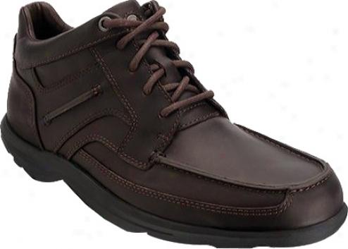 Rockport Truwalk World Tour Boot Wp (men's) - Dark Brown Full Grain Leather