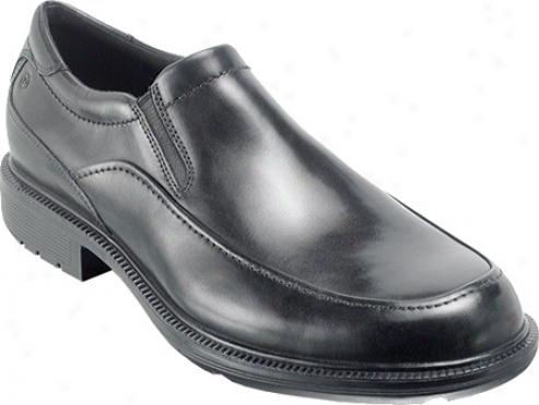 Rockport Wispen (men's) - Black Full Grain Leather