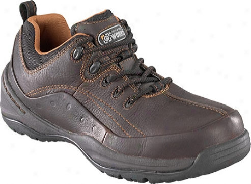 Rockport Works Rk6100 (men's) - Brown Leather