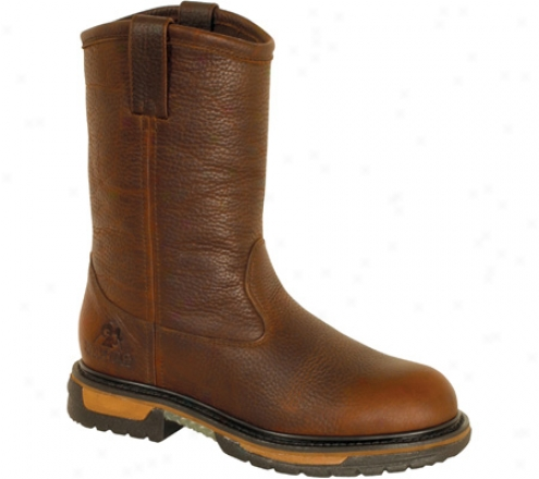 """rocky 11"""" Ironclad Wellington 6685 (men's) - Tan Pitstop Leather"""