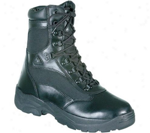 """Hard 8"""" Fort Hood 2049 (men's) - Black Learher"""