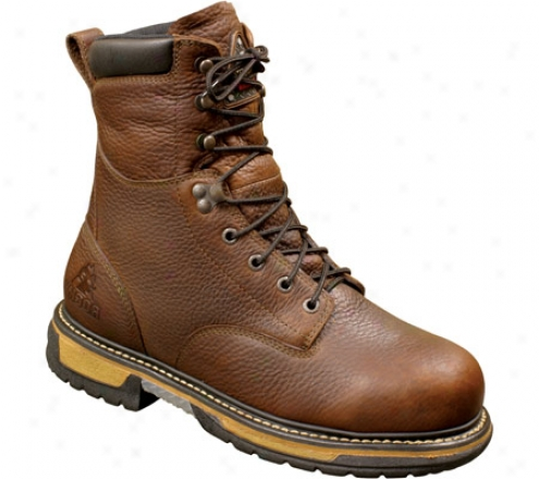 """rocky 8"""" Ironclaf 6694 (men's) - Bridle Brown Leather"""