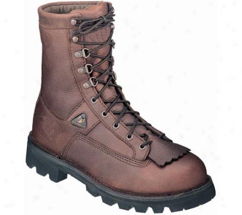"""rocky 9"""" Portkand 6151 (men's) - Curry Stone Leather"""