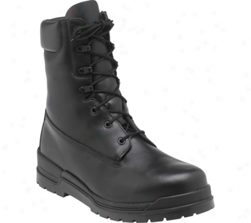 """rocky Basics 6"""" 1950 (mens') - Black Full Grain Leather"""