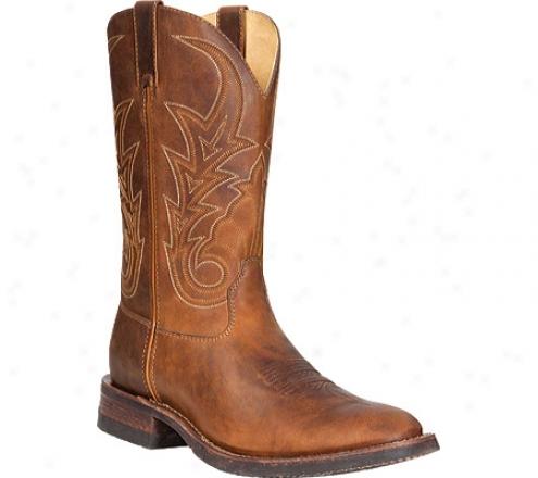 """rocky Handhewn U-toe/work Sole 12"""" 4983 (men's) - Saddle Brown"""