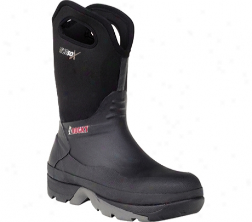 """rocky Mudsox 10"""" Pull-on 7219 (men's) - Blacm"""